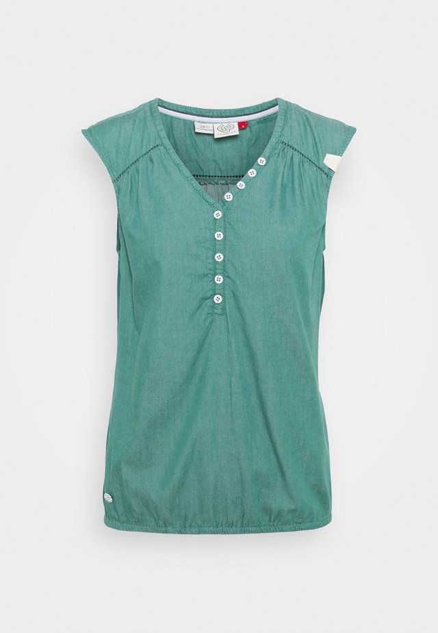 SALTY - Bluse - dusty green