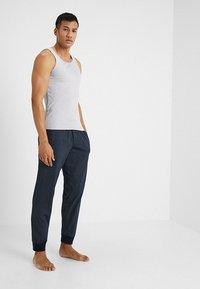 Schiesser - BASIC - Pyjamasbyxor - dark blue - 1