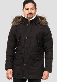 INDICODE JEANS - BAYNES - Winter coat - chocolate - 5