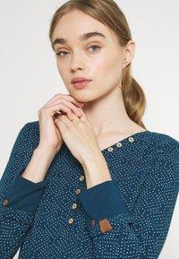 Ragwear - PINCH STARS - Long sleeved top - denim blue - 3