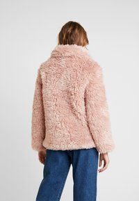 Topshop - FLUFFY JONAS - Winter jacket - pink - 2