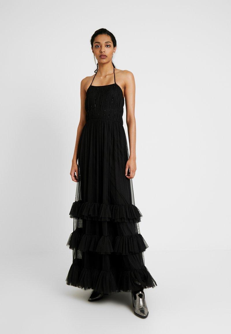 Lace & Beads Tall - RENEE - Galajurk - black