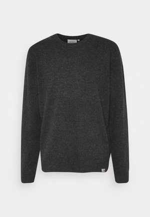 ALLEN - Jumper - black heather