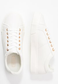Topshop - CAMDEN LACE UP - Baskets basses - white - 3