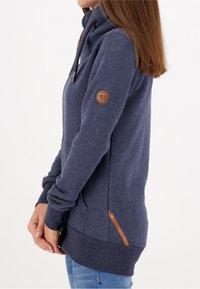 alife & kickin - VIVIANAK - Zip-up hoodie - marine - 4