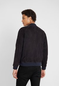 Editions MR - JEAN PAUL JACKET - Leather jacket - navy - 2