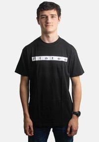 Platea - STATEMENT - Print T-shirt - schwarz - 0