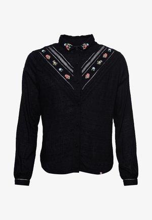 SANDY EMBROIDERED - Koszula - black