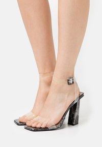 BEBO - VERITY - High heeled sandals - black - 0
