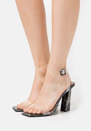 VERITY - High heeled sandals - black