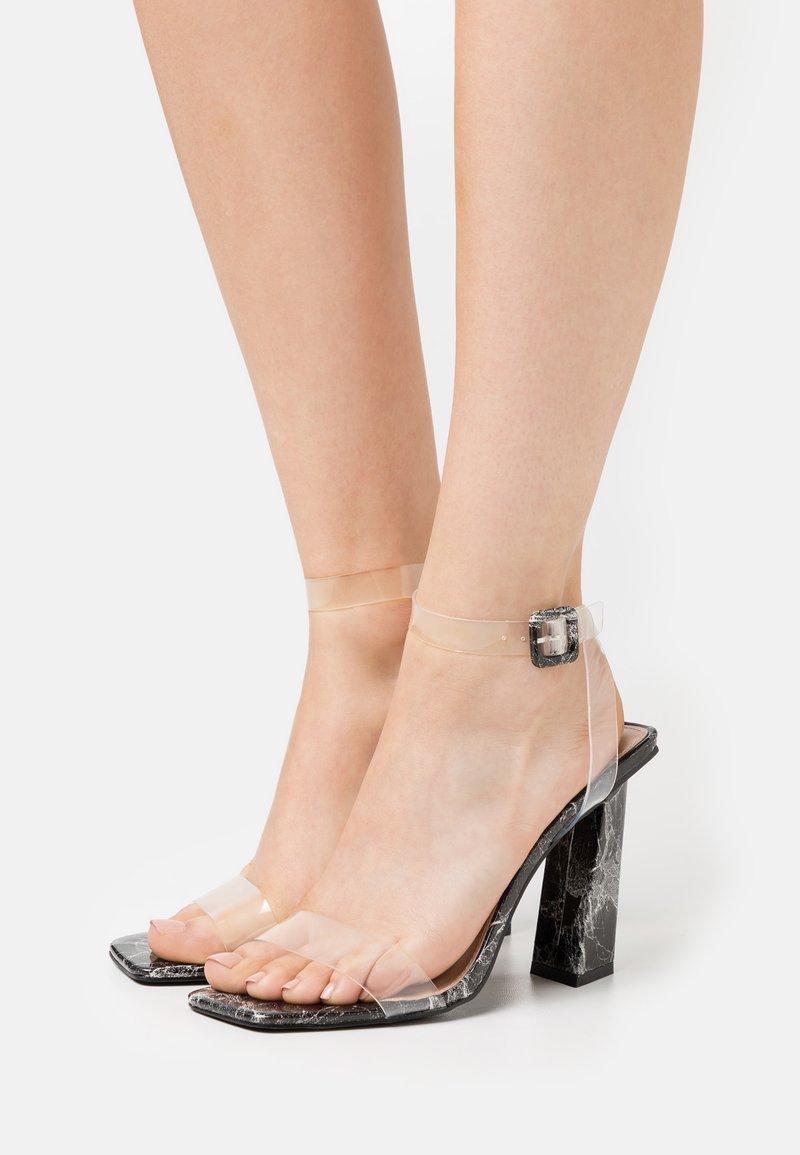 BEBO - VERITY - High heeled sandals - black