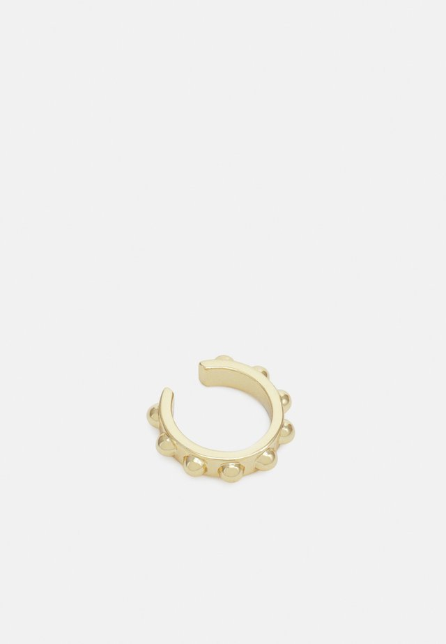 STUDDED EAR CUFF - Orecchini - gold-coloured