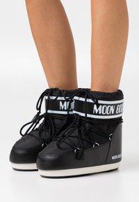 Moon Boot - CLASSIC LOW - Vinterstøvler - black - 0