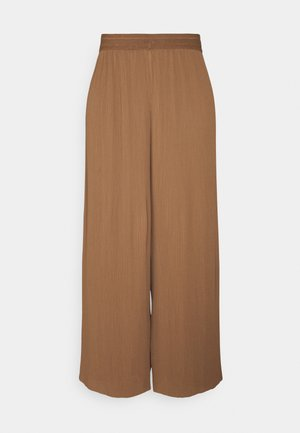 ONLMARIN PLISSE CULOTTE - Trousers - toasted coconut