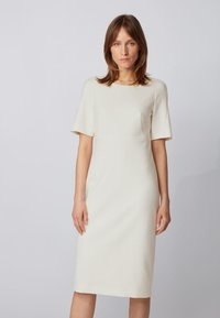 BOSS - DALUNE - Shift dress - natural - 0