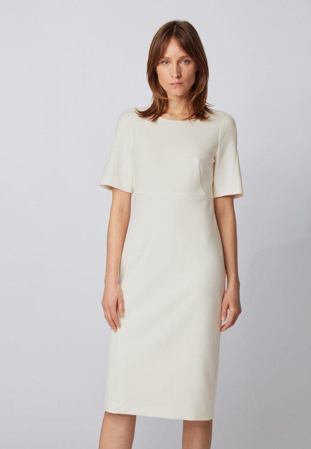 DALUNE - Shift dress - natural