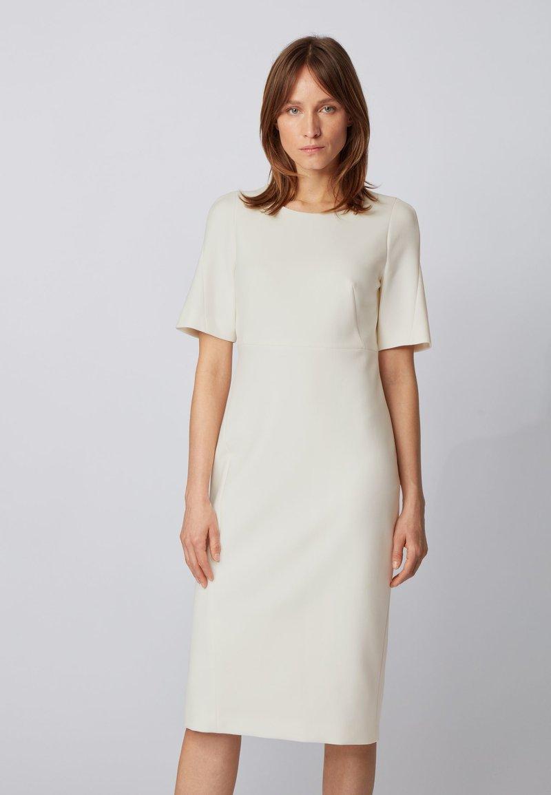 BOSS - DALUNE - Shift dress - natural