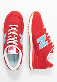 New Balance - 574 - Trainers - red - 1