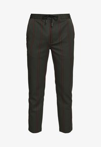 STRIPE - Tracksuit bottoms - khaki
