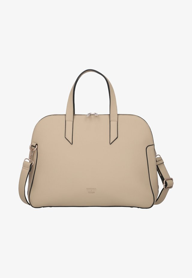 BARBARA PURE - Handbag - sand