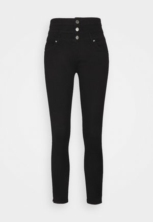 ONLROYAL LIFE CORSAGE - Jeans Skinny Fit - black