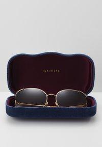 Gucci - Sunglasses - gold-coloured/brown - 3