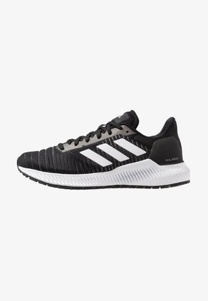 SOLAR RIDE - Neutral running shoes - core black/footwear white/grey five