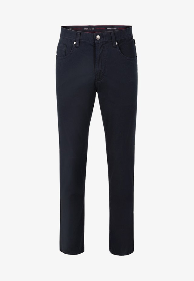 MIT HIGH STRETCH - Straight leg jeans - marine