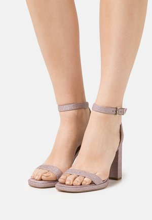 ANGELA ANKLE STRAP - Sandals - soft pink