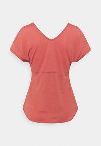 Nike Performance - BREATHE COOL - T-shirt imprimé - canyon rust - 1