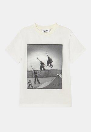 ROXO - T-shirt imprimé - white