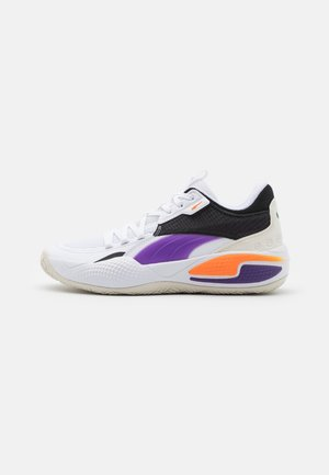 COURT RIDER  - Basketball shoes - white/prism violet