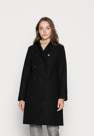 ONLMADDIE HIGHNECKCOAT - Classic coat - black