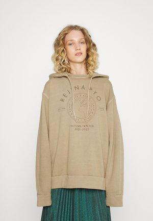 BENNY HOODIE - Sweater - beige