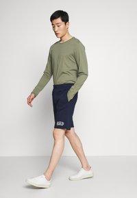 GAP - NEW ARCH LOGO - Teplákové kalhoty - tapestry navy - 1