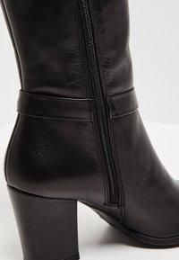 usha - Laarzen met hoge hak - black - 6