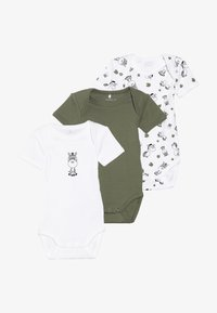 Name it - ZEBRA 3 PACK - Body - loden green - 4