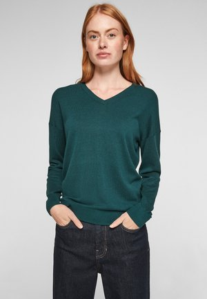 Pullover - forest green