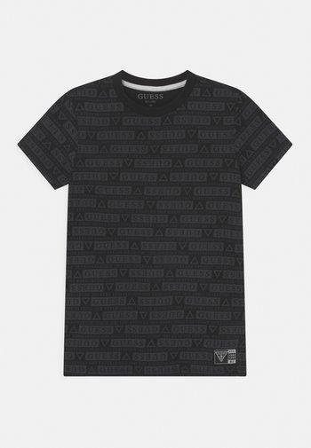 UNISEX - Print T-shirt - jet black