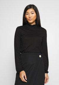 Opus - SUNI MINDFUL - Long sleeved top - black - 0