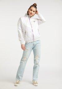 myMo - Waterproof jacket - white holographic - 1
