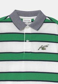 Lacoste - Poloshirts - white/chervil-navy blue - 2