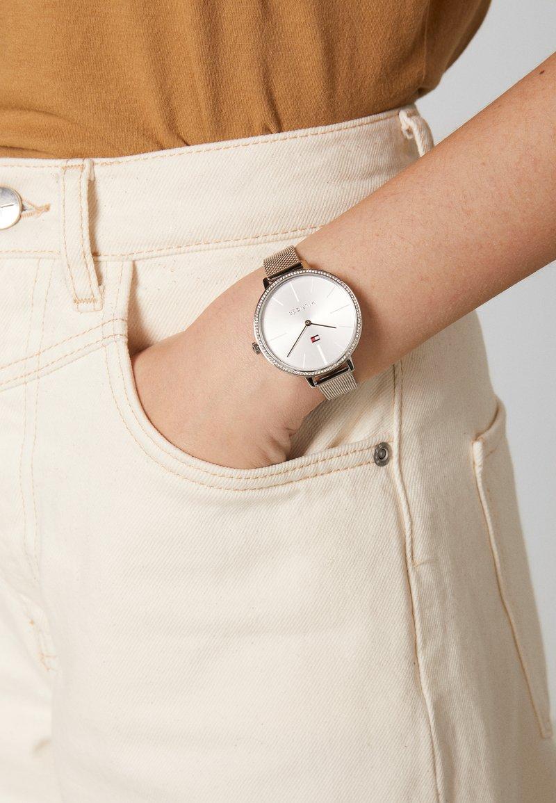 Tommy Hilfiger - KELLY - Horloge - silver-coloured