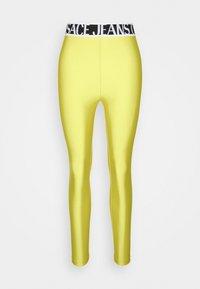 PANTS - Leggings - Trousers - yellow