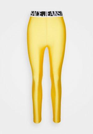 PANTS - Spodnie materiałowe - yellow