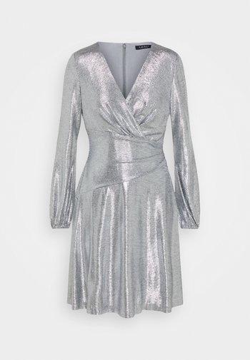DRESS - Cocktail dress / Party dress - dark grey/silver