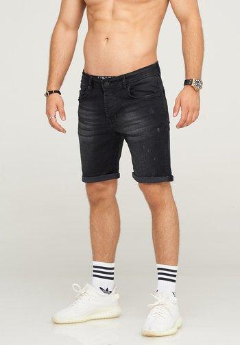 MJSADRIANO - Denim shorts - black