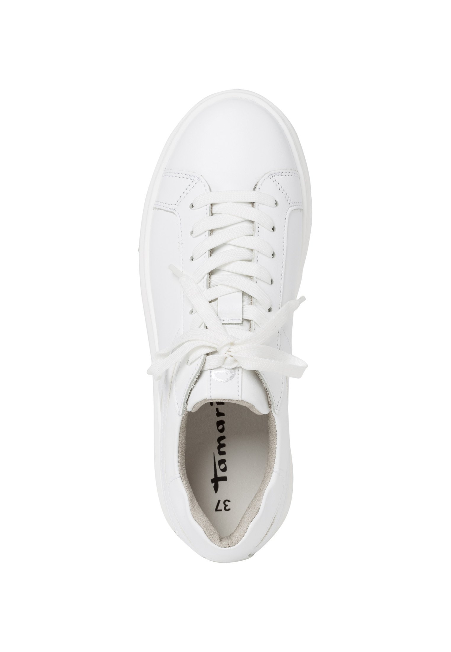 Tamaris Sneaker low white uni/weiß