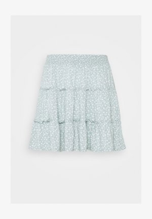 TRIFECTA SIDE BUTTON - A-line skirt - mint