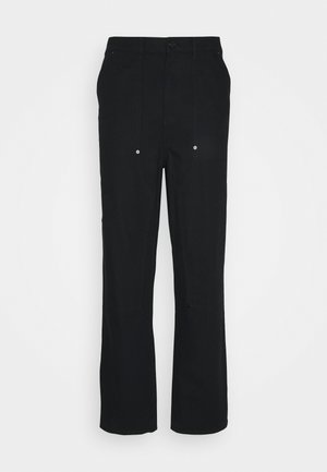 DARIEN TROUSERS - Trousers - black